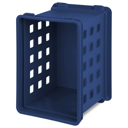 Sterilite Locker Crate, Mellow Blue
