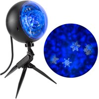 Lightshow Projection Plus-Kaleidoscope Whirl-a-Motion-SnowFlurry by Gemmy Industries