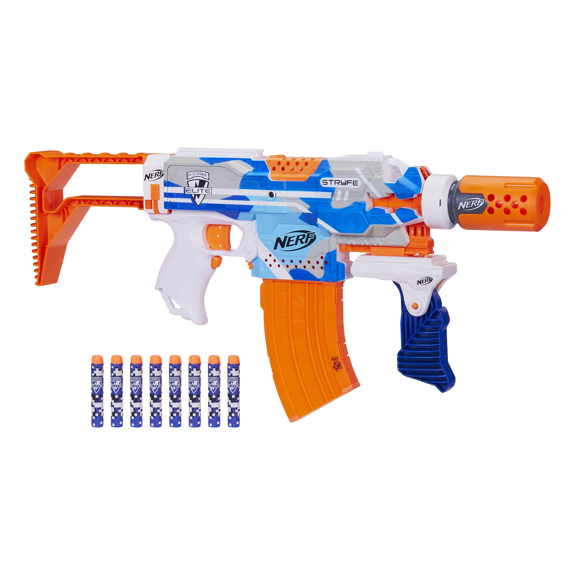 Nerf N-Strike Elite BattleCamo Series Stryfe - Walmart Exclusive