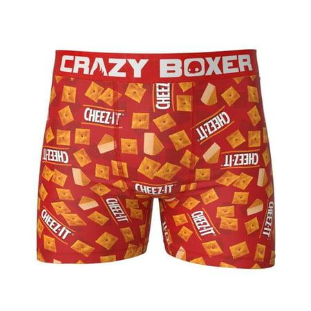 Pop Culture 809475-L Cheez-Its Boxer Briefs - Large - image 1 of 1