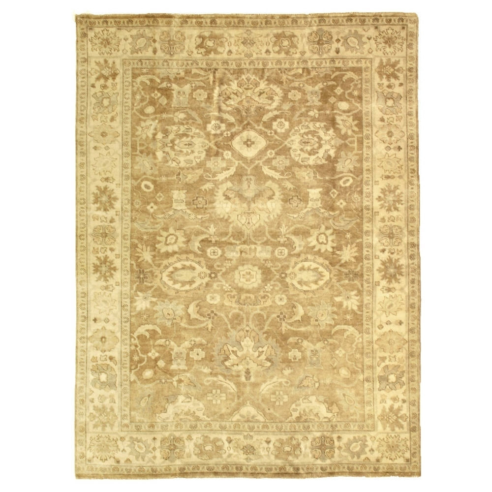Exquisite Rugs  Turkish Oushak Grey / Brown New Zealand W...