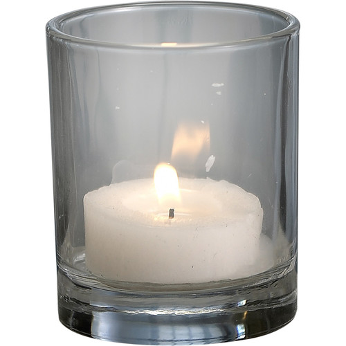 Biedermann and Sons Glass Tea Light and Votive Candle Holder (Set of 12)