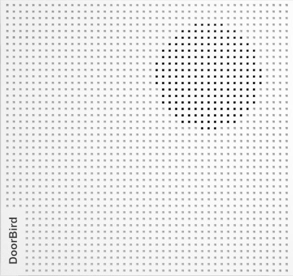 DoorBird A1061W IP Door Chime, White Edition by