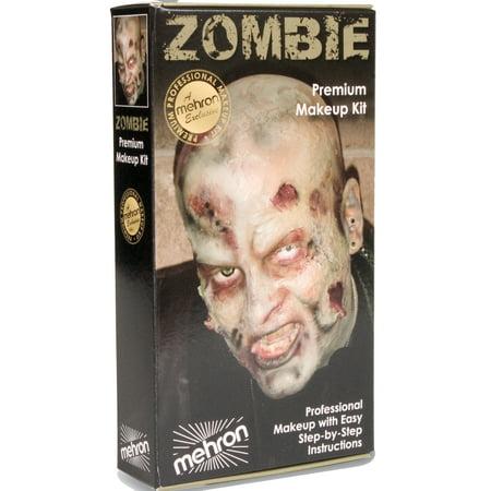 Zombie Makeup Kit Undead KMP-Z - Easy Diy Zombie Makeup