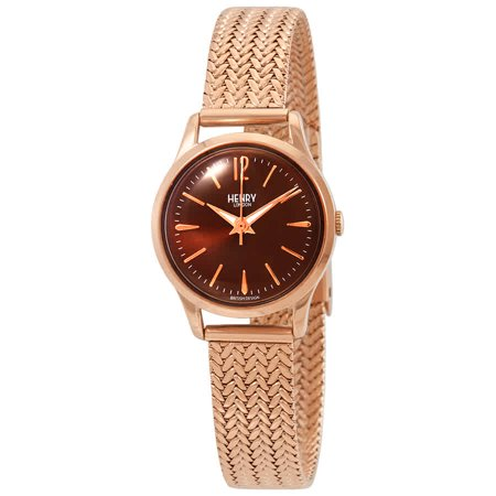 Henry London Harrow Chocolate Brown Dial Ladies Watch (Chocolate Brown Dial)