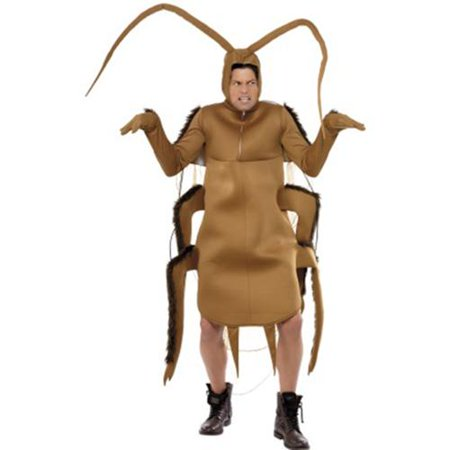 Brown Bug Cockroach Bodysuit Costume Adult - Bus Costume