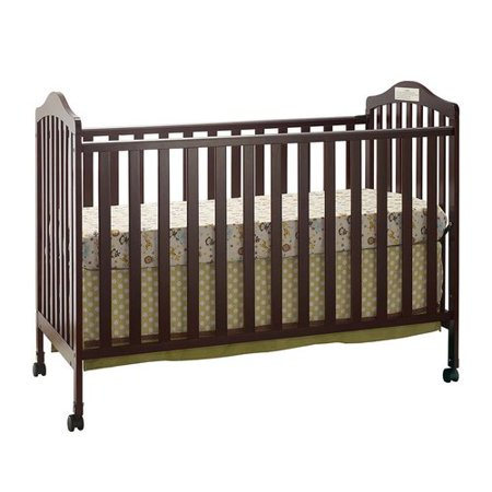 Girls Express (Big Oshi Emily 2-In-1 Convertible Crib Frame - Modern, Unisex Wood Design for Boys or Girls - Low to Ground Design - Converts to Crib or Day Bed Style Toddler)