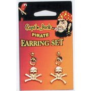Pirate Earring Set Adult Halloween Accessory