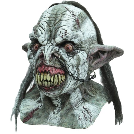 Morris Costumes Middle Earth Battle Orc Adult Full Head Latex Mask, Style TB26414 - Middle School Costume Ideas