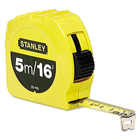 Stanley Bostitch Long Tape Measure - Stanley Bostitch 30496 0.75 in. x 16 ft. Tape Measure