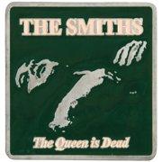 Smiths Men's The Queen Is Dead Belt Buckle Silver