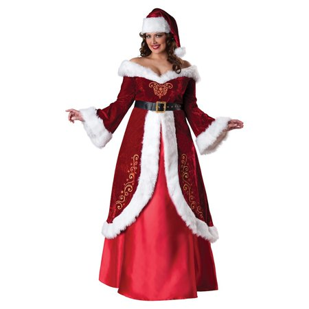 plus size adult female mrs st nick christmas costume by incharacter costumes llc 55004