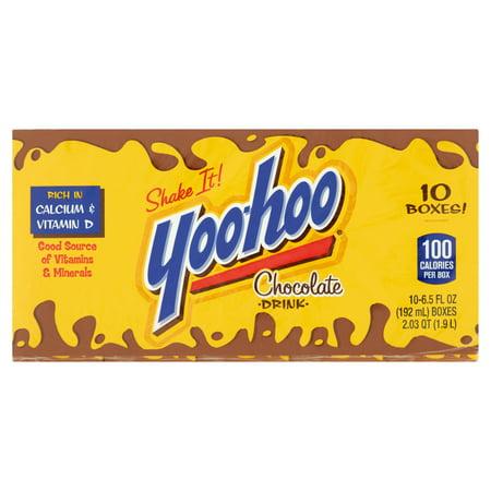 Yoo Hoo Chocolate Drink  6 5 Fl Oz  10 Pack