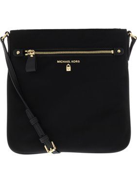 d1a2d33ec70cde Product Image Women's Large Kelsey Nylon Crossbody Cross Body Bag - Black. Michael  Kors