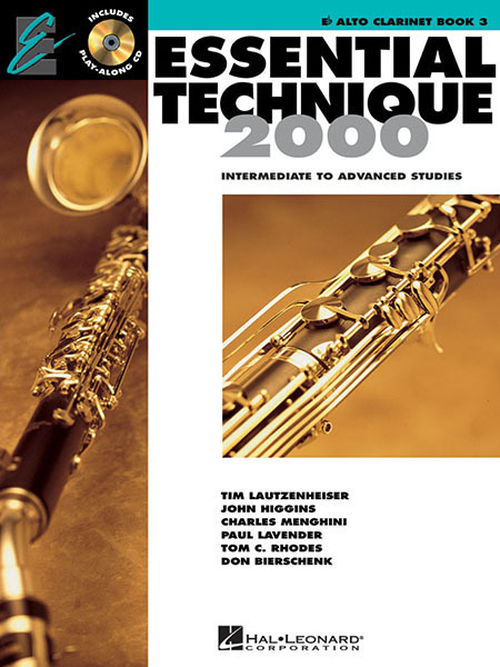 Essential Technique 2000 Eb Alto Clarinet-Intermediate Advanced Studies, 862621 by Hal Leonard