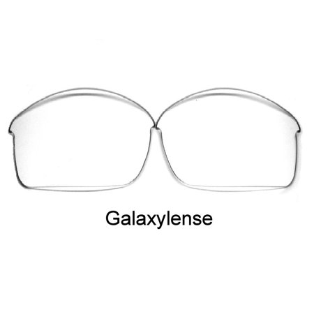 Galaxy Replacement Lenses for Oakley Bottle Rocket Crystal Clear Color  100%