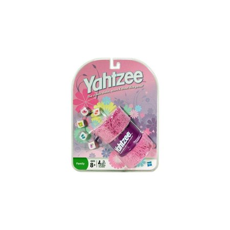 Pink Yahtzee  The Classic Shake  Score  And Shout Dice Game  By Yahtzee