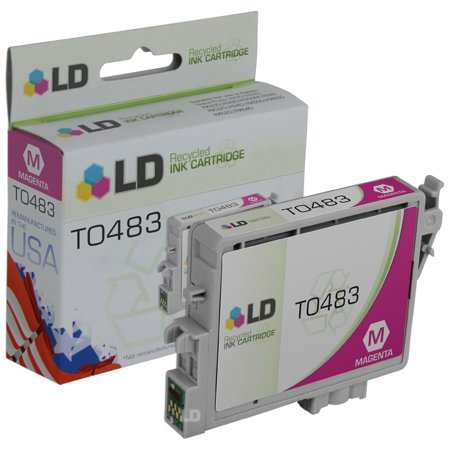 LD Remanufactured Replacement for Epson T048320 (T0483) Magenta Inkjet Cartridge for use in Epson Stylus Photo R200,