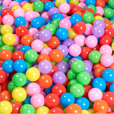 100pcs 5.5cm Fun Soft Plastic Ocean Ball Swim Pit Toys Baby Kids Toys - Plastic Toy Balls