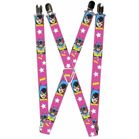 Batman DC Comics Superhero Batgirl Suspenders - Batman Suspenders
