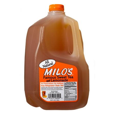 Milo S Famous Sweet Tea And Lemonade 1 Gallon Walmart Com
