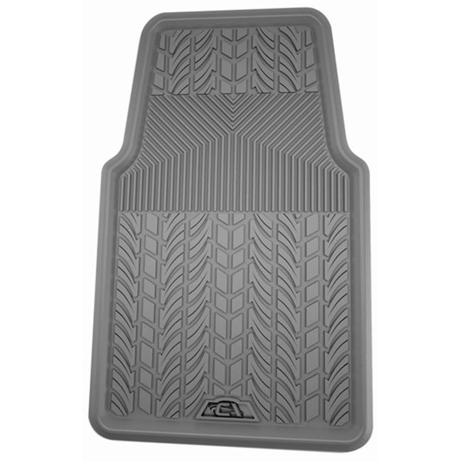 C Accessories Mats Grey Rubber Interior Floor Mat