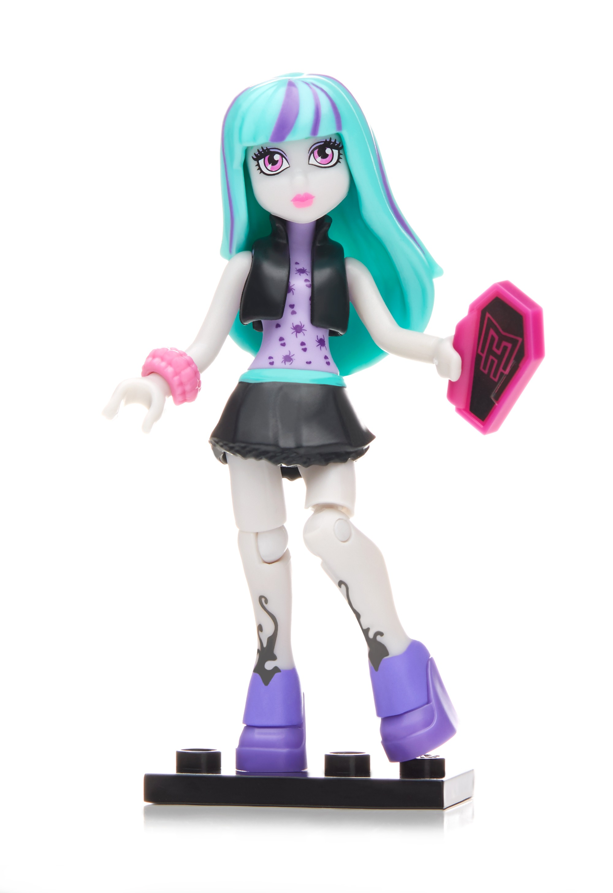 Mega Construx Monster High Ghouls Skullection III Twyla Doll by Mega Brands, Inc.