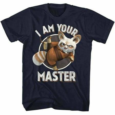 Kung Fu Panda Movies Master Adult Short Sleeve T Shirt (Old Navy Halloween Dragon)