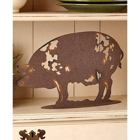 The Lakeside Collection Metal Farm Animal Figures