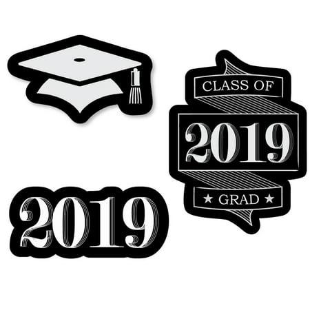 Graduation Face Cutouts (Graduation Cheers - DIY Shaped 2019 Graduation Party Cut-Outs - 24)