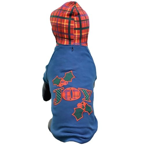 East Side Collection Holly Days Joy Hoodie, X-Small