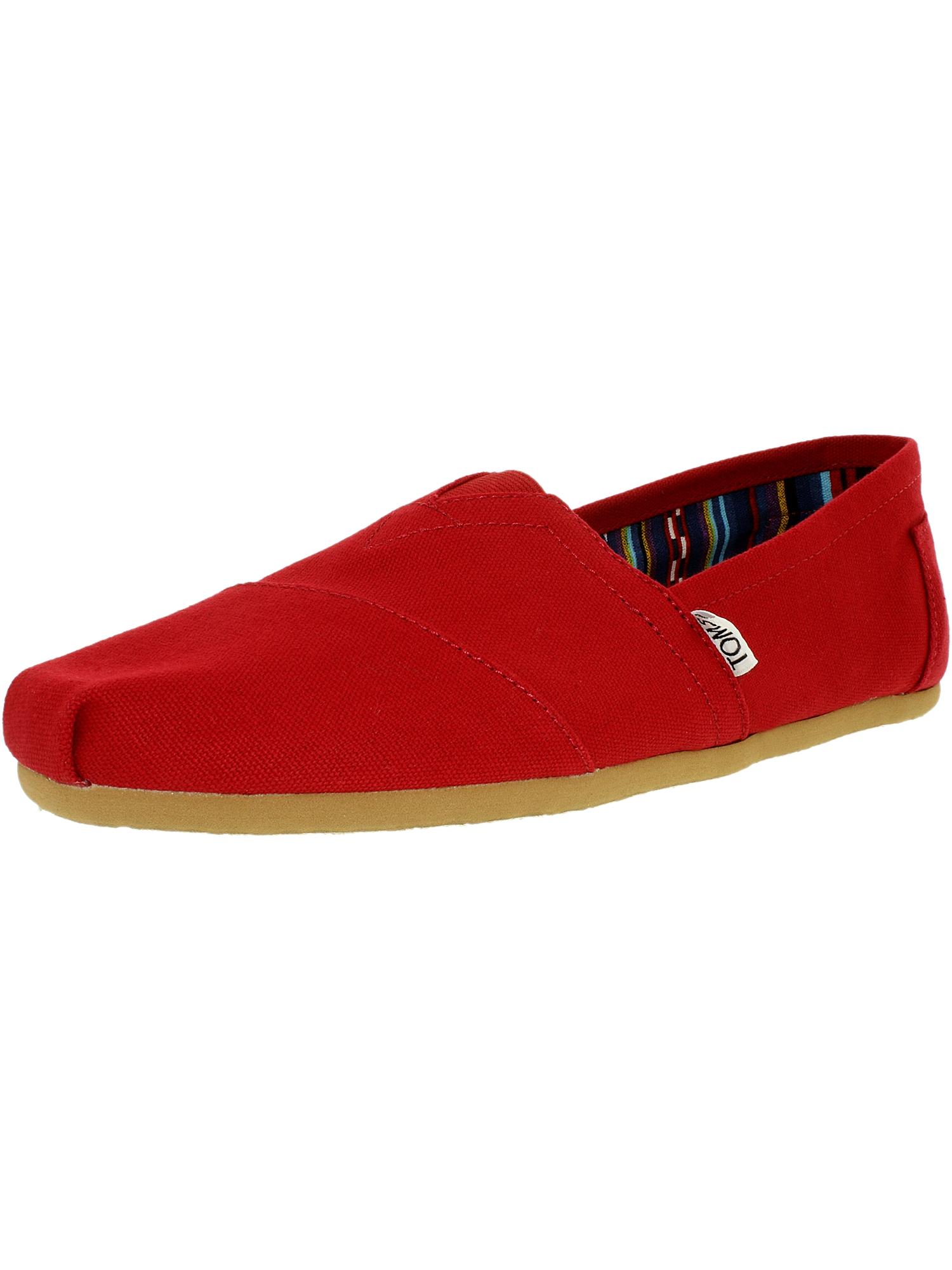 Toms Men's Alpargata Canvas Black Ankle-High Flat Shoe - 8M