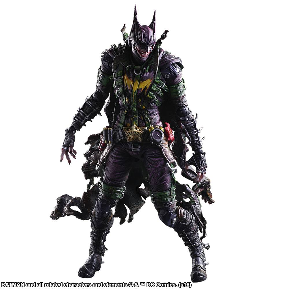 Square Enix DC Comics Variant Play Arts Kai Batman Rogues Gallery Joker Action Figure by