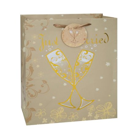 Large just married wedding gift bag walmartcom for Walmart registry wedding gifts