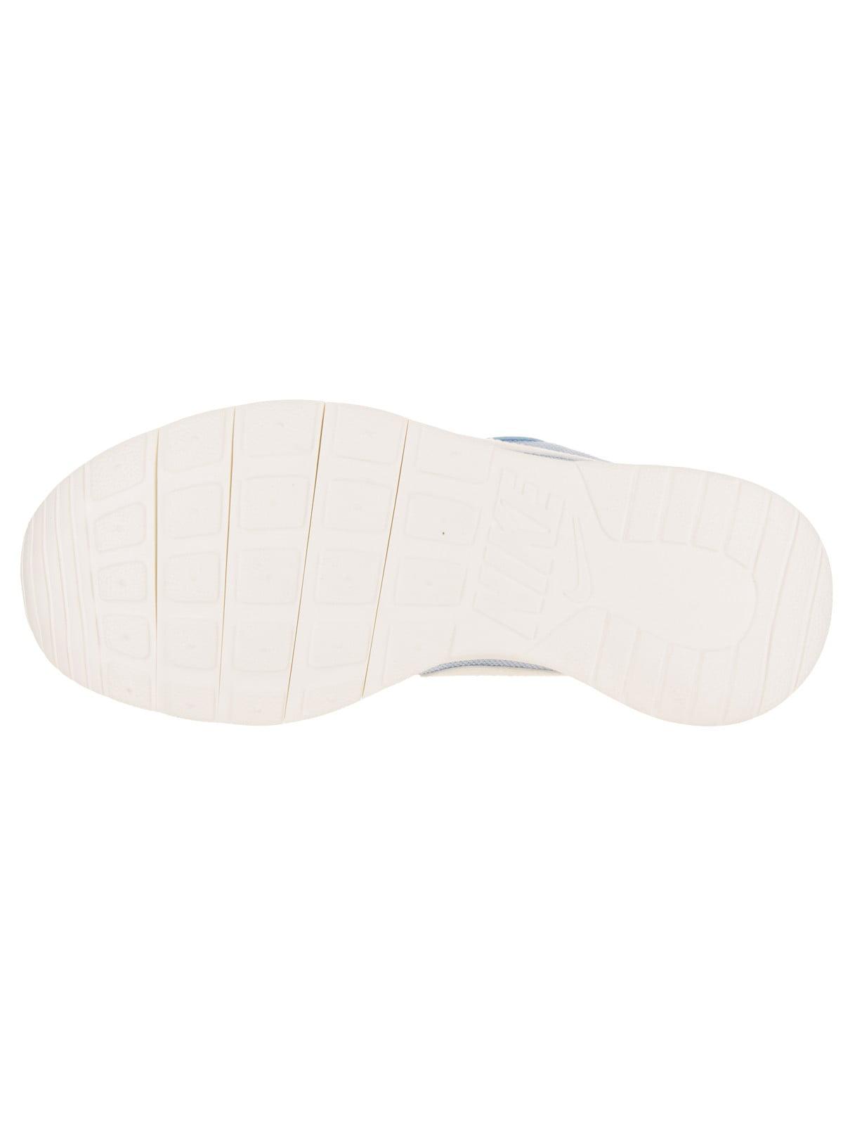 Nike 859617-401: Girls Tanjun SE White Big Kid Sky Blue White SE Running Sneakers (7 M US Big Kid) 1f7c53