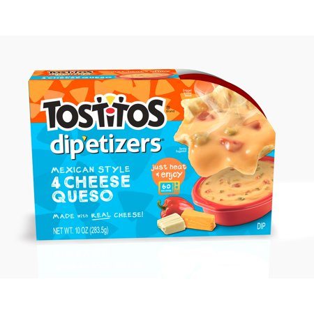 Tosos Dip Etizers Mexican Style Four Cheese Queso 10 Oz