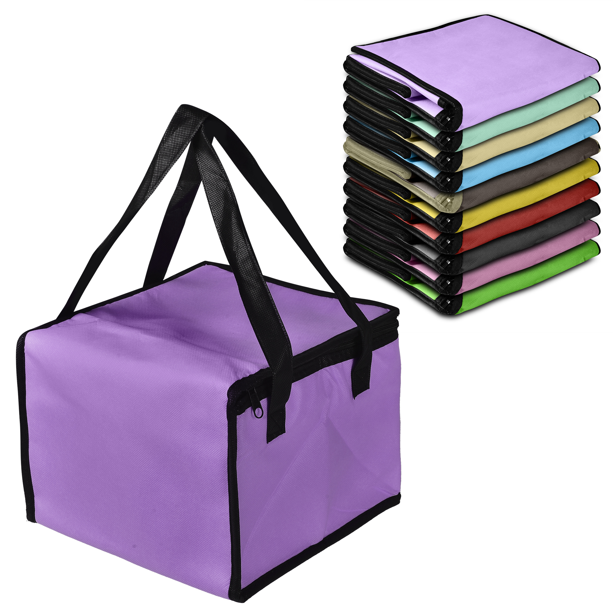 CUH Cool Bag Portable Cooler Food Insulated Can Drink Lunch Picnic Hiking 21L /12.5L