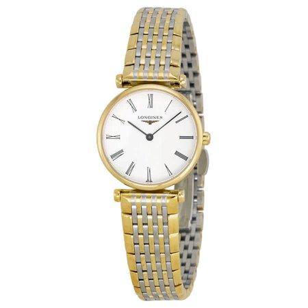 Longines La Grande Classique White Dial Ladies Watch L42092117