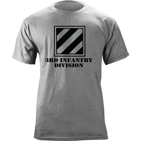 Army 3rd Infantry Division Subdued Veteran T-Shirt