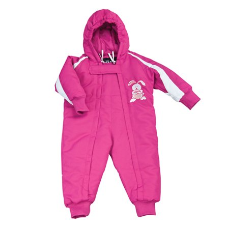 80f3860ef Mossi, Infant One Piece Infant Snowsuit Piece Snow Suit Pink - 12 months -  Walmart.com