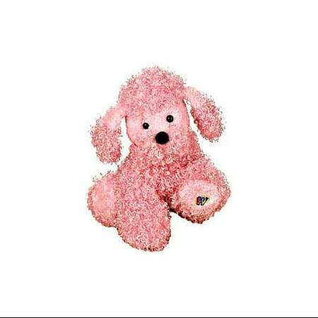 Poodle Plush - Webkinz Pink Poodle Plush