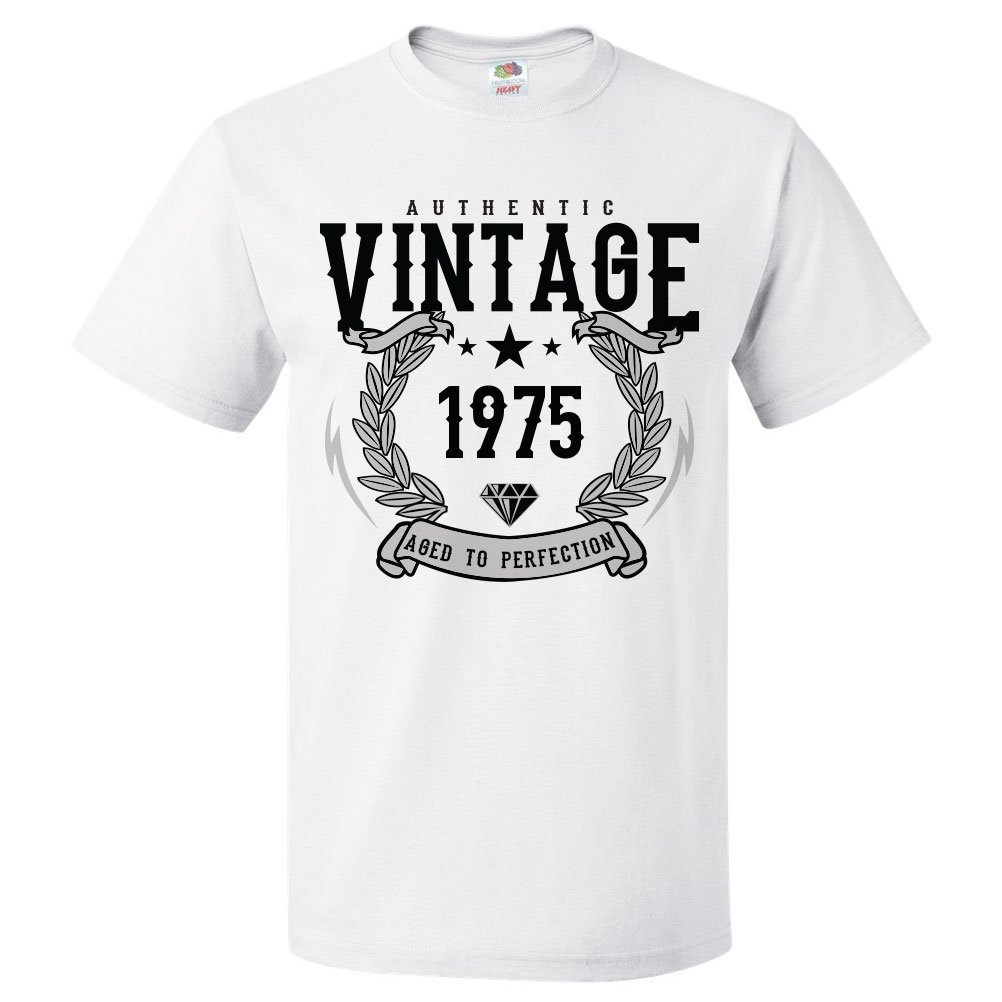 44th Birthday Gift For 44 Year Old 1975 Aged To Perfection T Shirt Gift