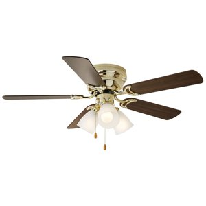 "42"" Chapter Ceiling Fan, 3 Light, Hugger"