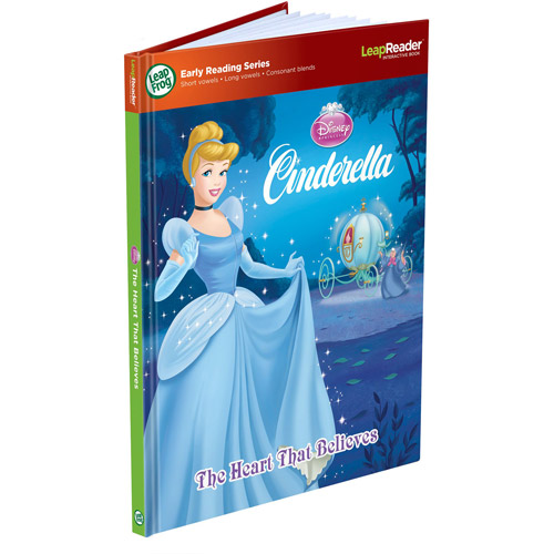 LeapFrog LeapReader Book: Disney Cinderella: The Heart That Believes (works with Tag)