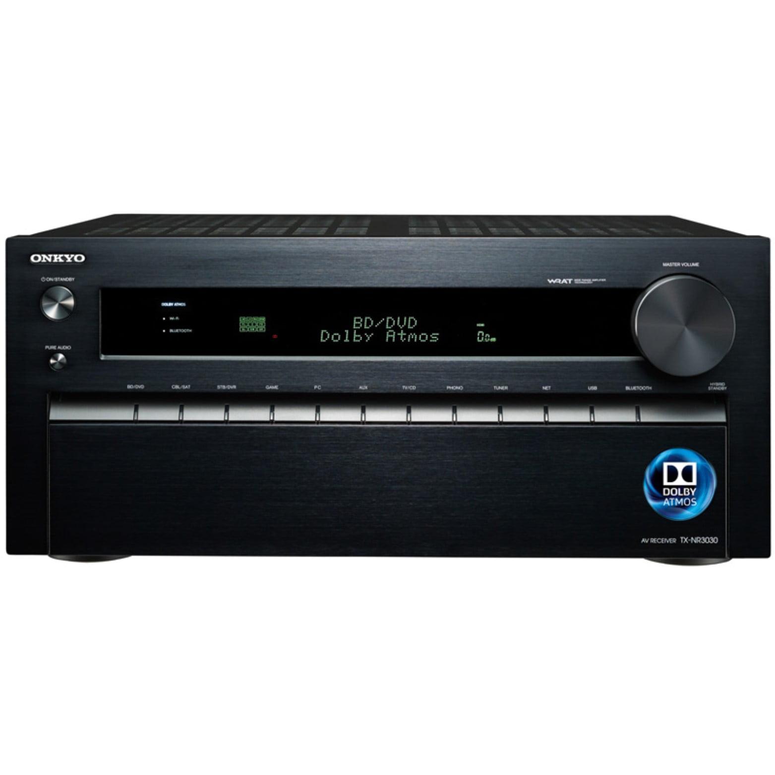 Onkyo TX-NR3030 11.2-Ch Dolby Atmos Ready Network A V Receiver w  HDMI 2.0 by Onkyo