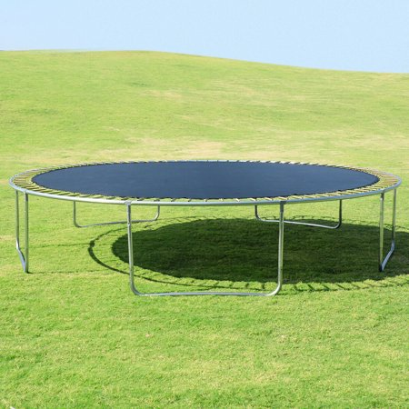 15FT Trampoline Combo Bounce Jump Safety Enclosure Net W/Spring Pad Ladder - image 5 of 10