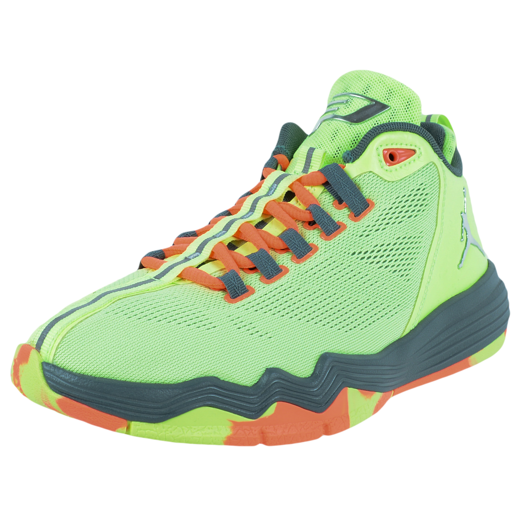 78297376d607d closeout air jordan cp3 ix sølv orange 0790f 0c9b2