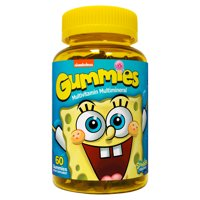 Nickelodeon SpongeBob SquarePants Multivitamin Gummies, 60 Count