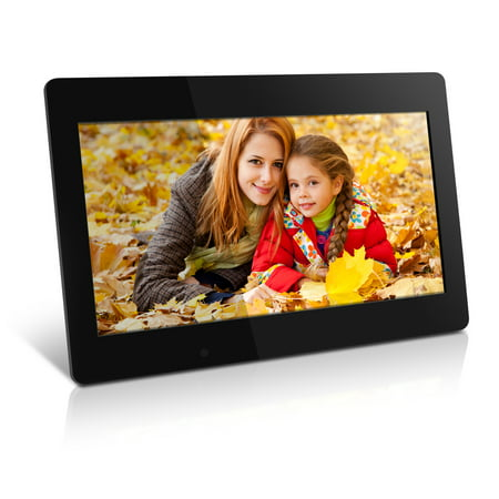 Aluratek 18.5 Digital Photo Frame with Automatic Slideshow and 4GB Built-in Memory (1366 x 768 Resolution, 16:9 Aspect Ratio) 100 Digital Picture Frames