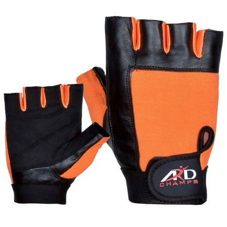 Weight Lifting Gloves Strengthen Training Fitness Gym Exercise Workout, Size